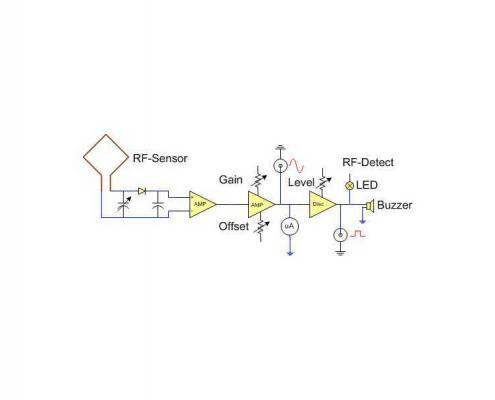 RF Power Sensor circuit diagram | Ranatec