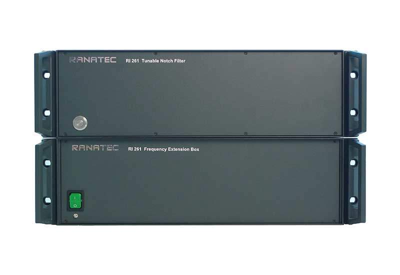 RI 261 Electronically Tunable Notch Filter and Frequency Extension Box | Ranatec