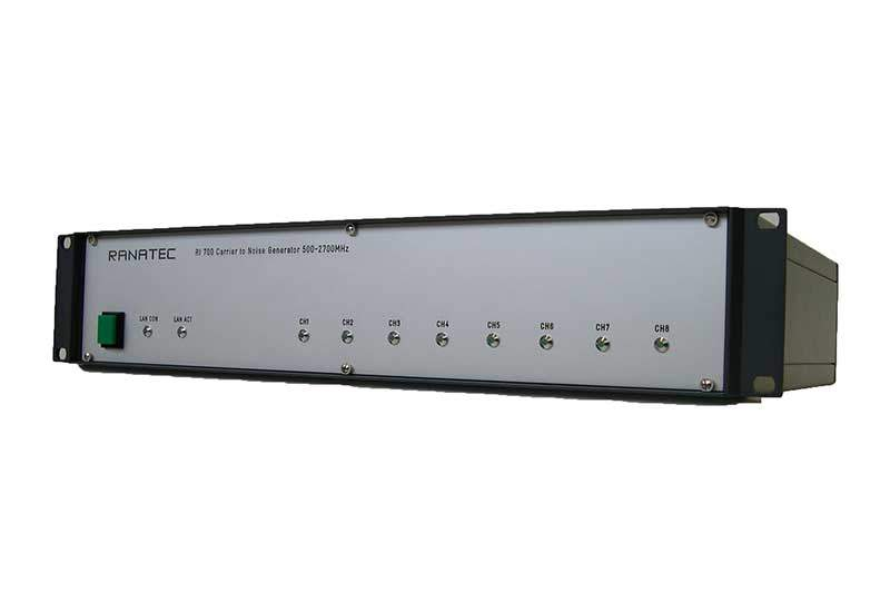 RI 700 Carrier-to-Noise Generator front | Ranatec