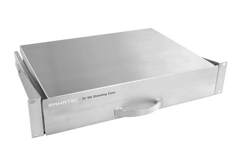 RI 180 RF Shielding case front view | Ranatec