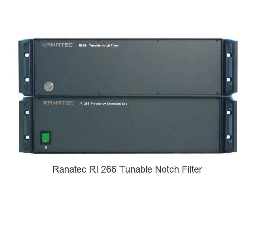 Ranatec RI 266 Tunable Notch Filter