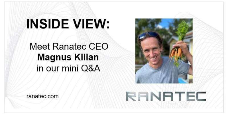 Meet Ranatec CEO   Ranatec