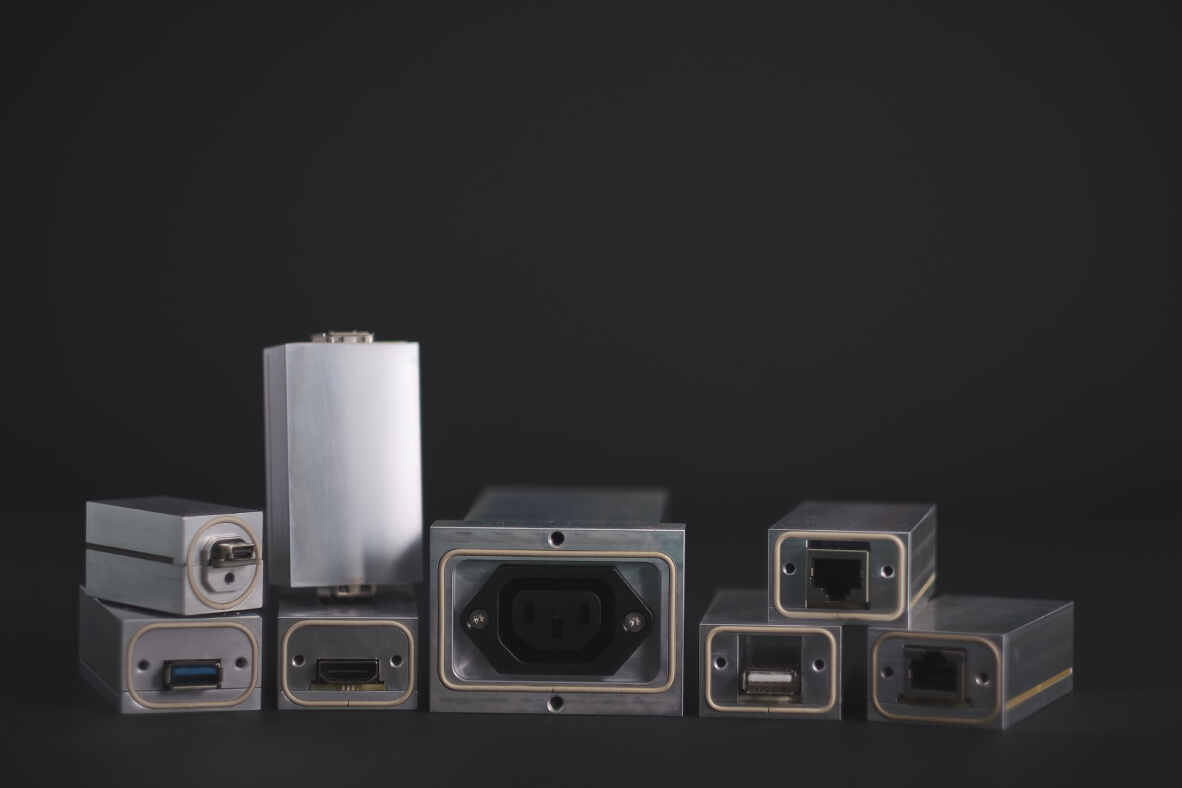 RF Shielded Enclosure by Ranatec for good filter suppression performance