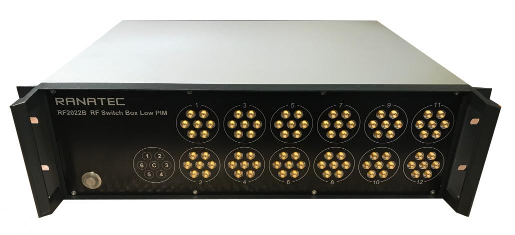 RF2022B RF Switch Box Low PIM | Ranatec